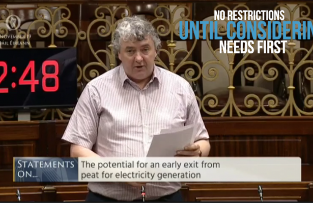 Thomas Pringle TD - No Restrictions On Turf Cutting Without First Considering Human Needs