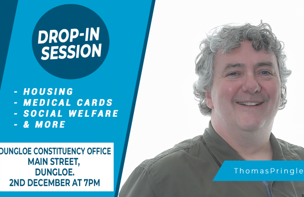 Thomas Pringle - Dungloe Drop In Session - Monday 2nd December