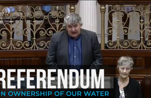 Thomas Pringle TD - Water In Public Ownership Referendum - Delay, Delay, Delay