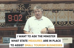 Thomas Pringle TD - Small Business Tourism