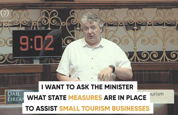 Thomas Pringle TD - Small Business Tourism