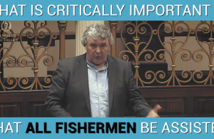 Thomas Pringle TD - Critically Important That ALL Fishermen Be Assisted