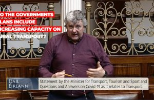 Thomas Pringle TD - Increasing Capacity on Rural Transport