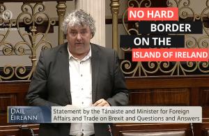 Thomas Pringle TD - No Hard Border On The Island Of Ireland