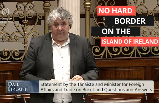 Thomas Pringle TD - No Hard Border On The Island Of Ireland