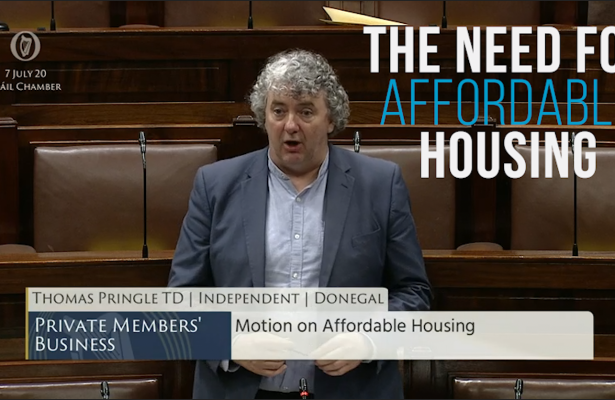 Thomas Pringle TD - Affordable Housing