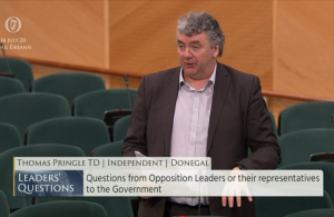 Thomas Pringle TD - Workers Rights