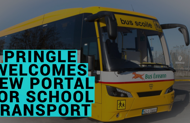 Thomas Pringle Welcomes New Portal For School Transport, But Says Capacity Must Meet Demand