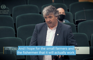 Fishing and Small Farmers Must Not Be Forgotten - Thomas Pringle TD
