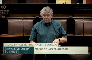Deputy Thomas Pringle - Cancer Screening: Motion