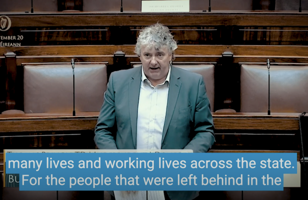 Thomas Pringle TD - Protect Taxi Drivers, People in the Arts - Those Left Behind During Lockdown