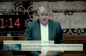 Thomas Pringle TD - Lift Restrictions on Maternity Care
