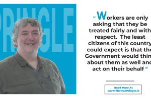 Thomas Pringle TD - All Debenhams Workers Are Asking For Is To Be Treated Fairly