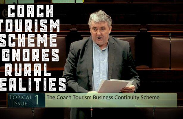 Pringle Says Coach Tourism Scheme Ignores Rural Realities