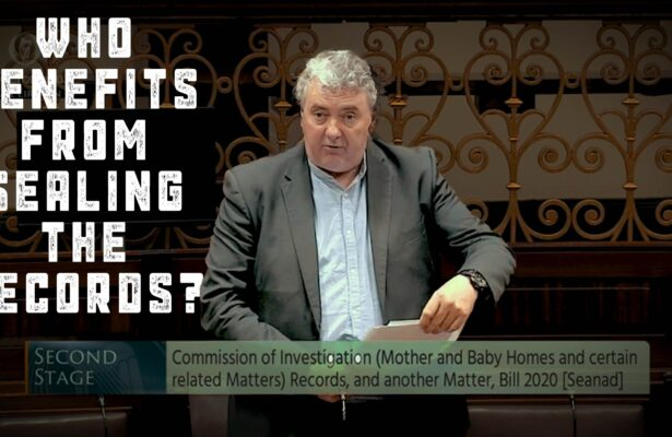 Thomas Pringle TD Scrap The Mother & Baby Homes Legislation