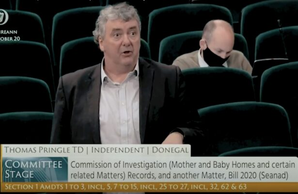 Pringle says amendment mix-up shows how Mother and Baby Homes bill was rushed through