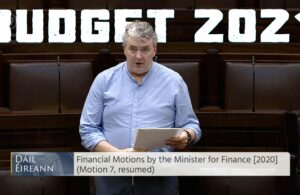 Thomas Pringle TD - Budget 2021
