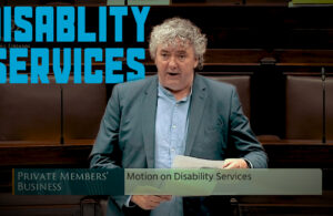 Thomas Pringle TD - Disability Services