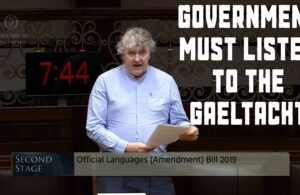 Thomas Pringle TD - Government Must Listen To The Gaeltacht At This Critical Point