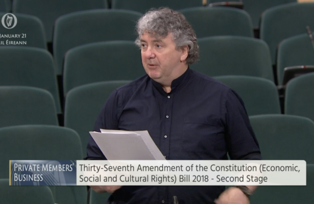 Pringle brings forward bill to see economic, social and cultural rights enshrined in Constitution