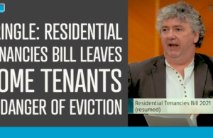Pringle says Residential Tenancies Bill leaves some tenants in danger of eviction