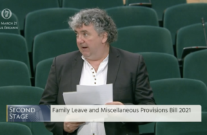 Pringle says changes to family leave provisions are belated but welcome
