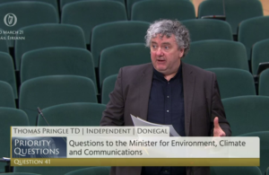 Pringle says Donegal cannot remain 'the forgotten county' in broadband roll-out