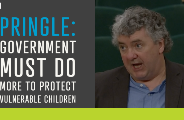 Pringle: Government must do more to protect vulnerable children