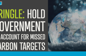 Pringle: Hold Government to account for missed carbon targets