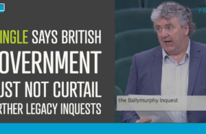 Pringle says British Government must not curtail further legacy inquests
