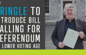 Pringle to introduce bill calling for referendum on lower voting age