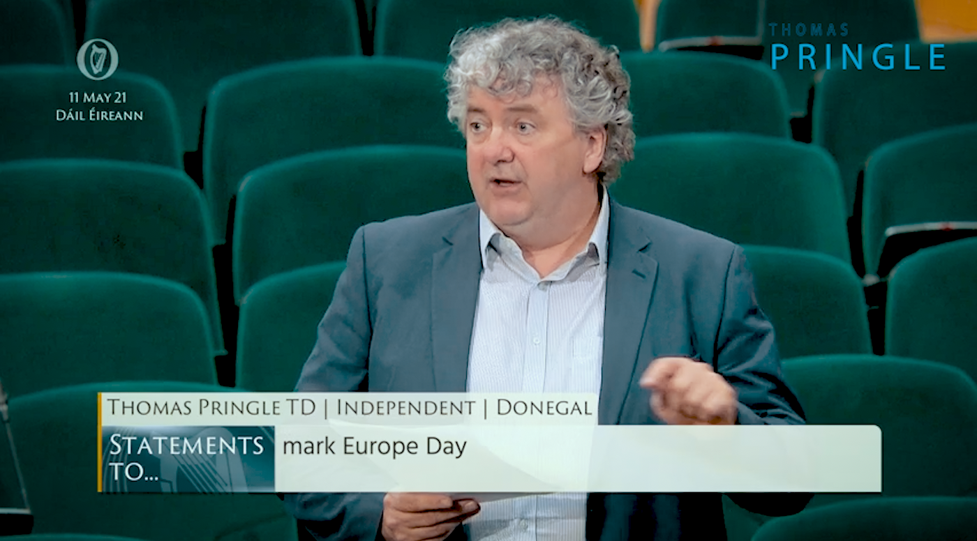 Pringle: Europe Day should be opportunity for critical reflection