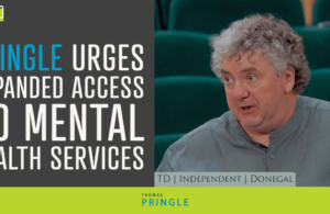 Pringle urges expanded access to mental health services