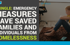 Pringle: Emergency measures have saved families and individuals from homelessness