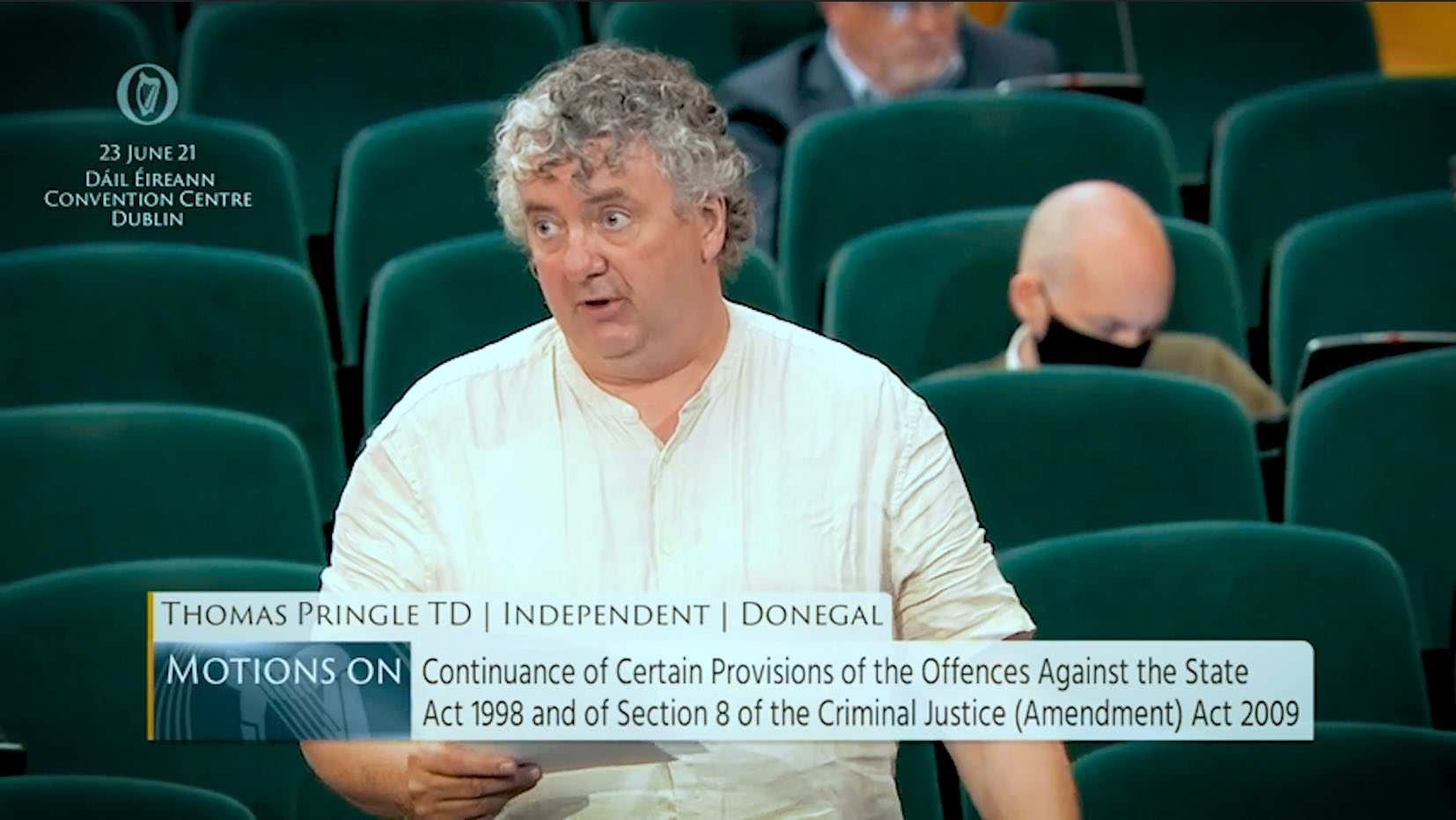 Pringle: Government should not have 'carte blanche' on continuance of criminal justice provisions