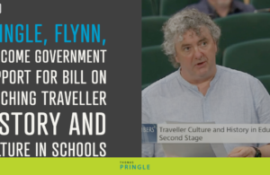 Pringle, Flynn, welcome Government support for bill on teaching Traveller history and culture in schools