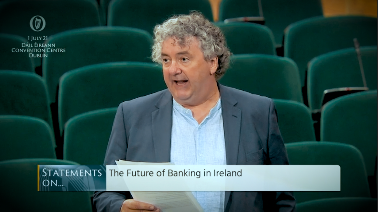 Pringle calls on Government to support community banking through credit unions, post offices