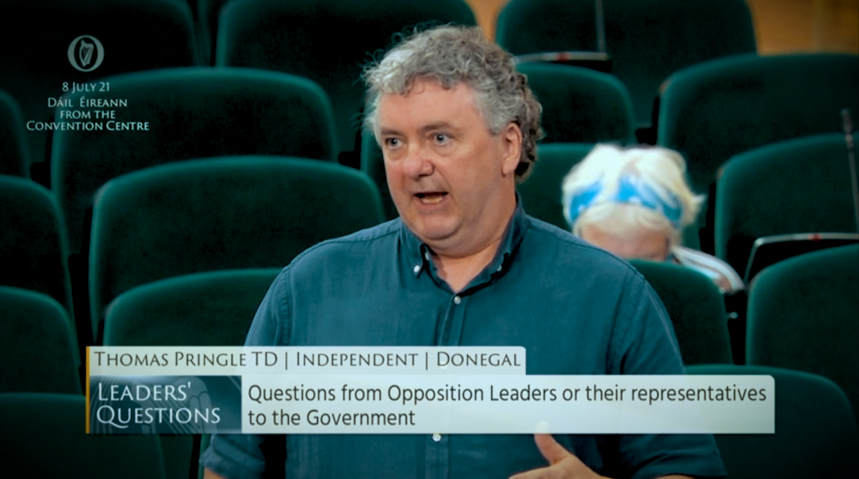 Pringle calls for steps to ensure communities are consulted on windfarms and other projects