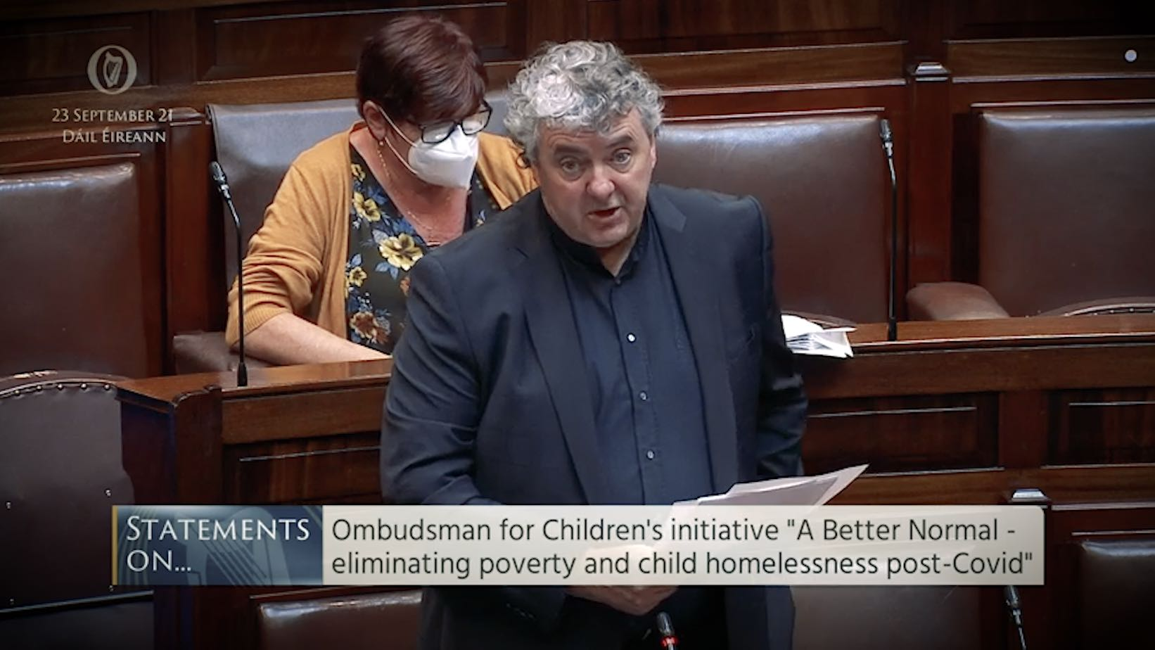 Thomas Pringle TD - Right to housing must be enshrined in Constitution